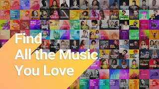 Find All the Music You Love screenshot 2