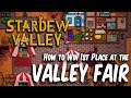 Stardew Valley Fair - How to Easily Win 1st Place
