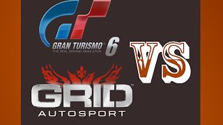 Gran Turismo 6 VS Grid Autosport Spa PS3 {1080p 60fps}