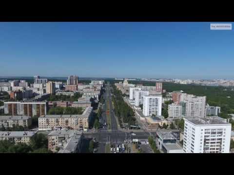Челябинск в 4K: Проспект Ленина