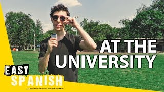 At the university   Super Easy Spanish 1