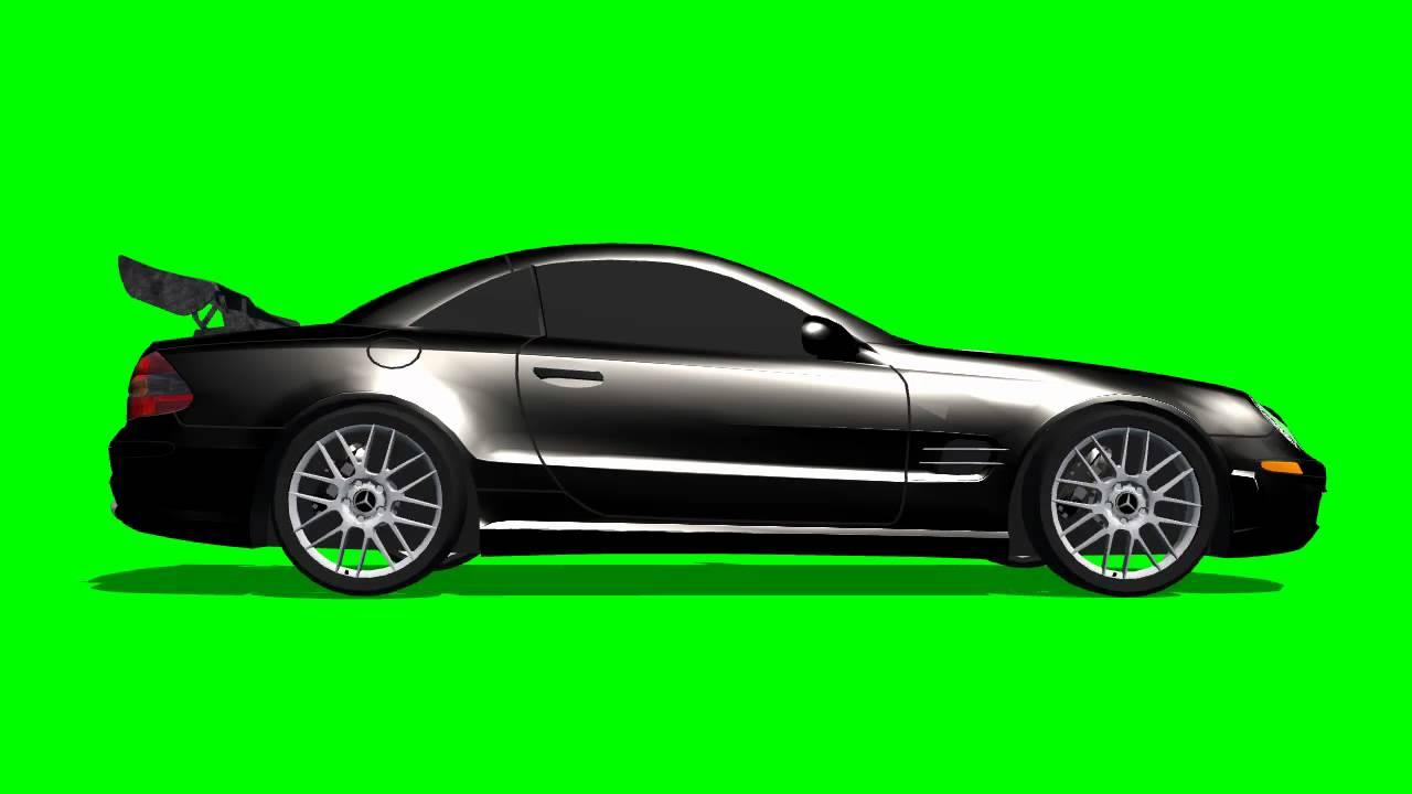 mercedes slk amg car drive green screen effects youtube. Black Bedroom Furniture Sets. Home Design Ideas