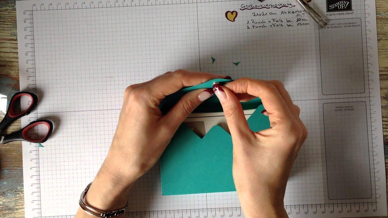 stampin up geschenkschachteln basteln mit magnetverschluss. Black Bedroom Furniture Sets. Home Design Ideas