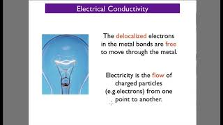 Chemical Bonding 8 - Metallic