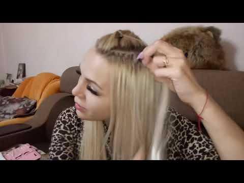 Самостоятельное снятие нарощенных волос дома