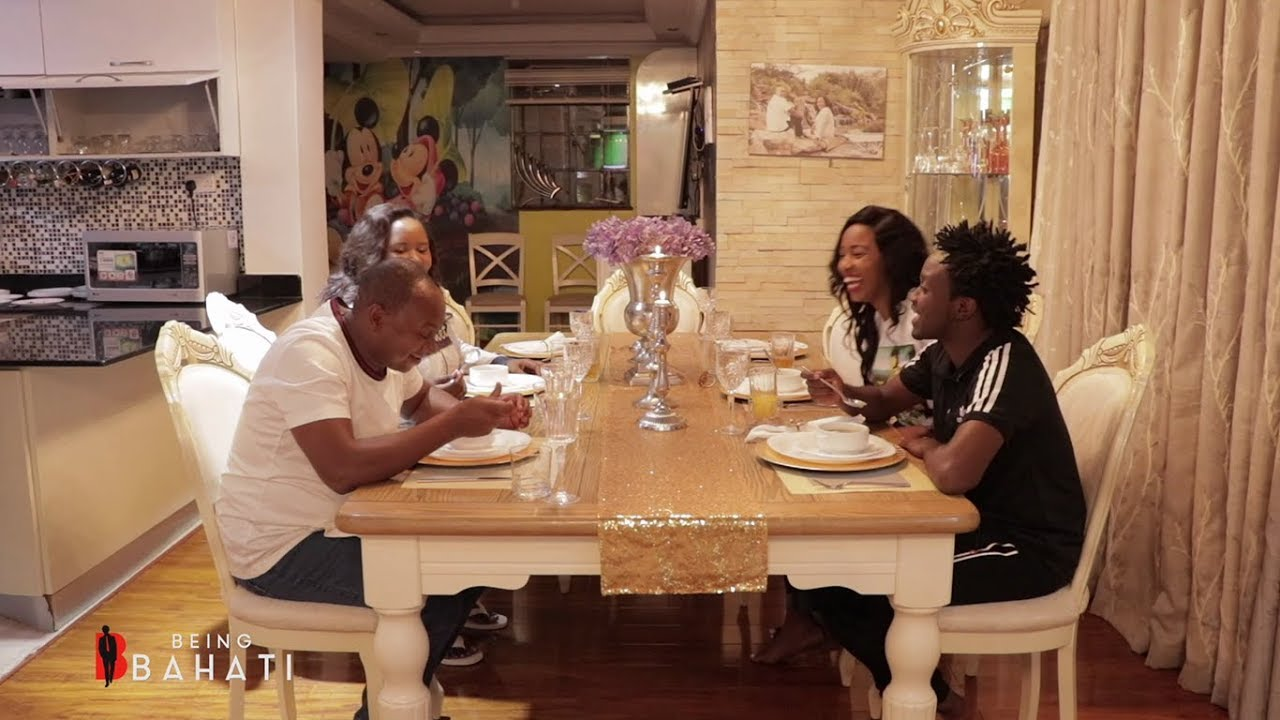 BAHATI AND DIANA ROMANTIC DINNER WITH THE KABUS (BEING BAHATI SN 02 EP 6)