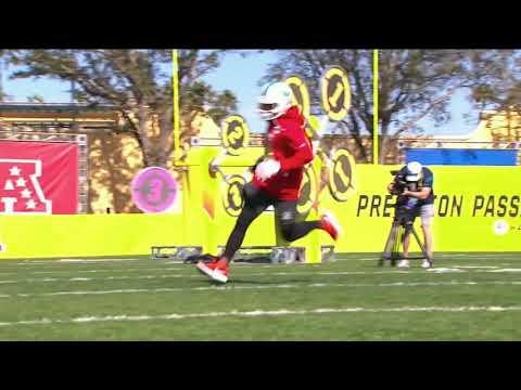 Drone Drop: 2018 NFL Pro Bowl Skills Showdown