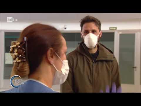 Coronavirus: la situazione in Spagna - Porta a porta 26/03/2020