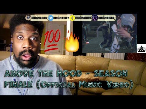 (GREEK)ABOVE THE HOOD - SEASON FINALE (Official Music Video) REACTION!!