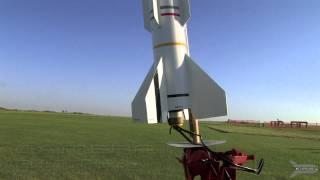 First Aerotech Strong Arm Model Rocket Launch At MAM Field