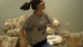 Colleen dancing to lolli lolli
