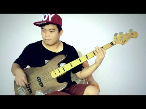 Malam Biru - Sandhy Sondoro (Bass Cover)