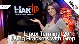 Linux Terminal 201: Using Brackets with Grep - HakTip 160