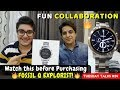 Watch this Before Buying FOSSIL Q EXPLORIST | FUN COLLABORATION | UNBOXING & REVIEW |By Varun Lilani