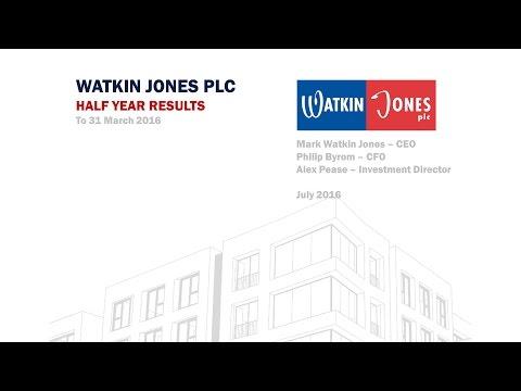 Watkin Jones at Mello 13.7.16