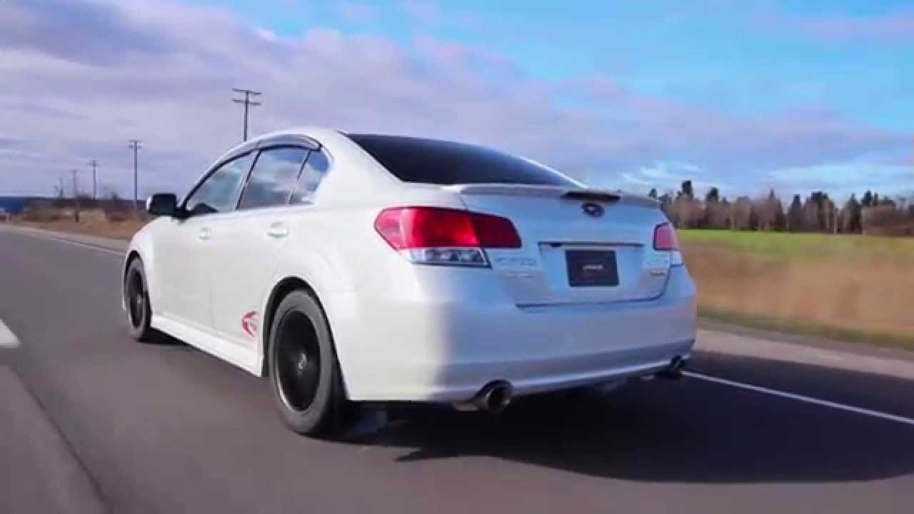 catback lachute performance - subaru legacy 3.6r (h6) - youtube