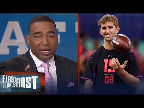 Cris Carter reveals why he is concerned about NFL QB prospect Josh Rosen   FIRST THINGS FIRST