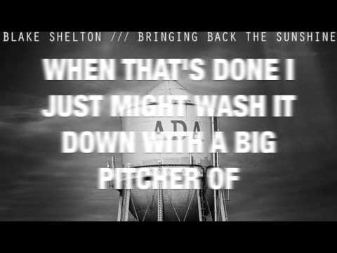 Neon Light- Blake Shelton (LYRIC VIDEO)