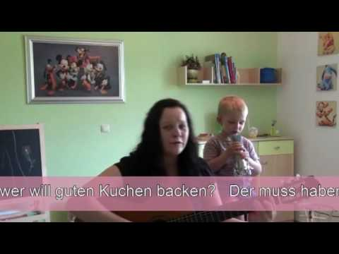 backe backe kuchen lied original auf deutsch youtube. Black Bedroom Furniture Sets. Home Design Ideas
