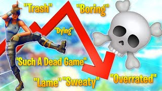 Is Fortnite Really DYING/A Dead Game?... (Featuring Special Guest BlueRune!)