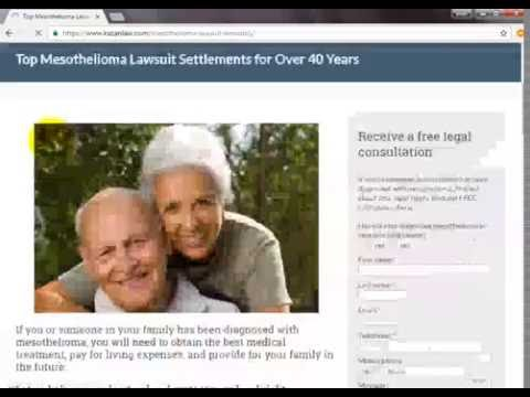 searching information about mesothelioma lawsuit settlement amounts on google