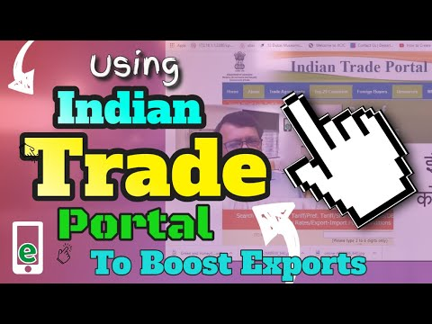 How to use Indian Trade Portal to boost your exports / imports business with no cost (In Hindi)