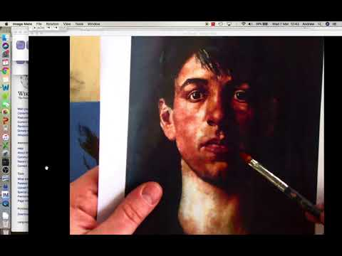 Stanley Spencer visual study tutorial 2 Under Painting