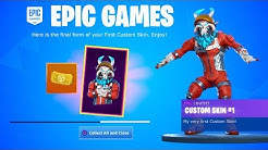 How to Create YOUR OWN SKIN in Fortnite! *GUIDE*