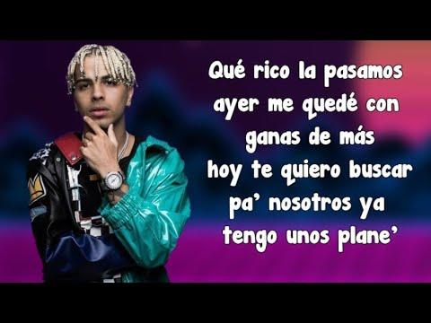Domingo (Remix Letra) Reykon Ft. Cosculluela, Greicy & Rauw Alejandro