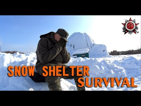 Snow Shelter Survival [Cold Air Trench] (2018)