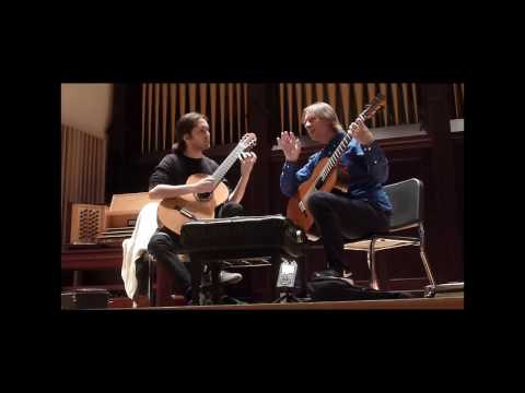 Lucas Master Class with David Russell 2 10 17 (Bach Suite #1 for Lute)