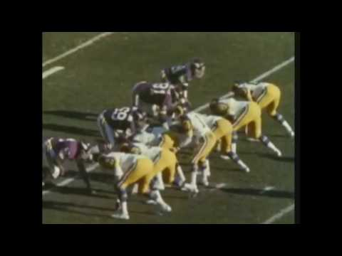 N.F.L. Films hilites, 1976-1977 season N.F.C. Championship Game, Rams at Vikings