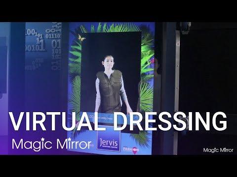 Virtual Dressing Kiosk - #4 Future Shopping Experience