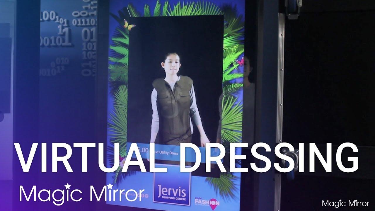 3d Virtual Dressing Magic Mirror Jervis Ping Centre
