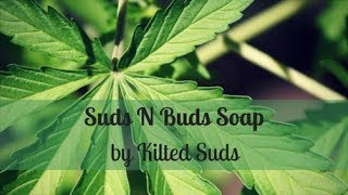 Suds N Buds Soap | Hemp Seed Soap | Drop Swirl Soap | Cold Process Soap by Kilted Suds