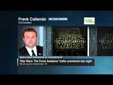 Frank Caliendo imitates ESPN personalities discussing 'Star Wars'