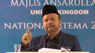 Mubarak Siddiqui - Stability of Khilafat (Urdu Poem)