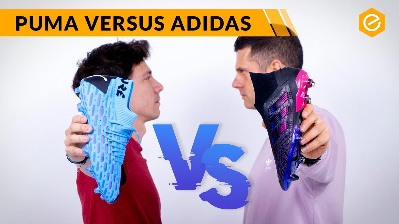 rastro Conclusión Sucediendo  CUÁL ES LA MEJOR BOTA DE TOQUE? Puma Future vs adidas Predator - YouTube