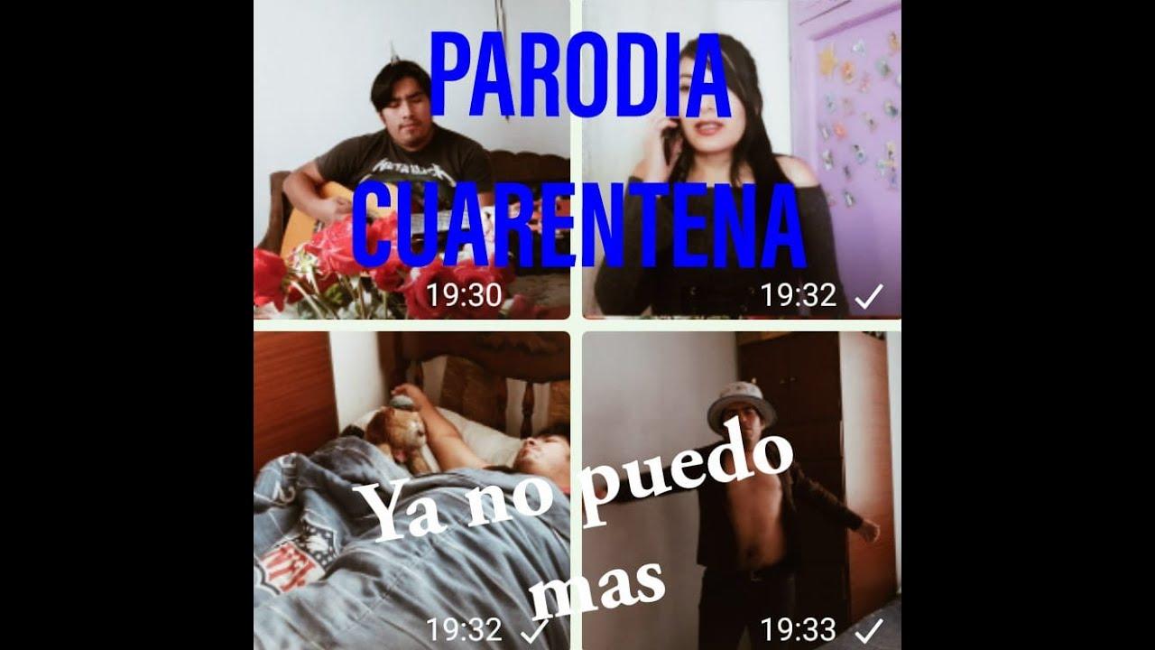 Camilo Sexto - Ya no puedo mas (Parodia cuarentena) - Jorge González