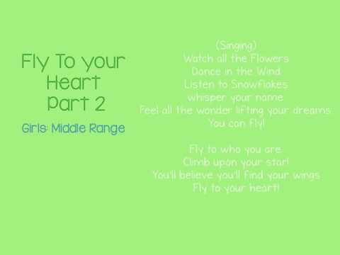 Mantua Drama Club - Audition Video - Fly to Your Heart