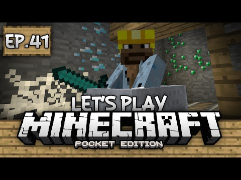 Survival Let's Play Ep. 41 - Going Mining!!! - Minecraft PE (Pocket Edition)