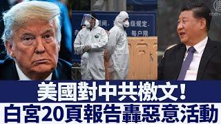 美國對中共檄文!白宮20頁報告轟惡意活動|新唐人亞太電視|20200524