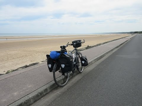 Cycle Camping Trip Normandy, D-Day beaches