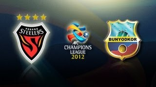 Pohang Steelers Vs Bunyodkor: AFC Champions League 2012 (Group Stage MD2)
