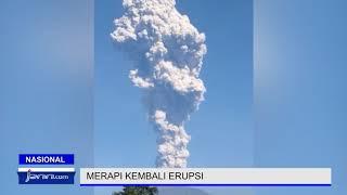 Merapi Erupsi lagi, Status Waspada - JPNN.com