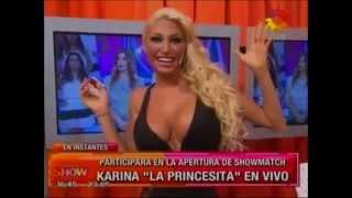 Repeat youtube video Para el infarto: el provocador look de Vicky Xipolitakis en Este es el show, ¡sin ropa interior!