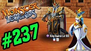 ✔️ĐÁNH BẠI BOSS NHÀ VUA VÀ HOÀNG HẬU !! - Monster Legends Game Mobiles - Android, Ios #236