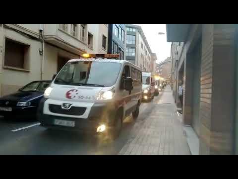 Caravana emergencias en Soria
