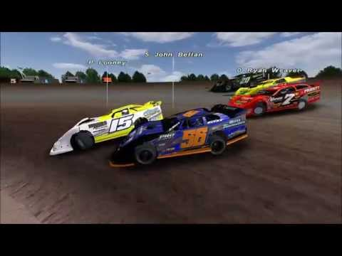 Taking it to the Front at 34 Raceway Rfactor