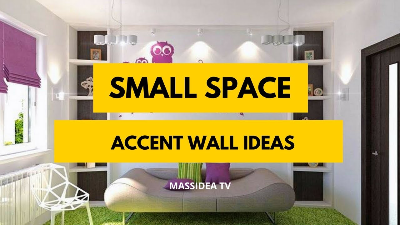 70+ Best Small Space accent wall Design Ideas 2018 - YouTube